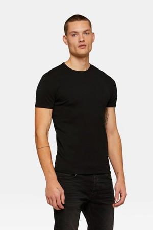 slim fit T-shirt black