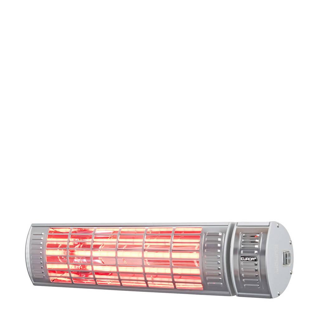 Eurom Golden 2000 Ultra RCD terrasverwarmer (incl. afstandsbediening), Golden 2000 RC, inclusief afstandsbediening, Zilver