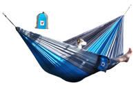 More Than Hip hangmat XXL Relaxzz (290 x 210 cm), Blauw/grijs