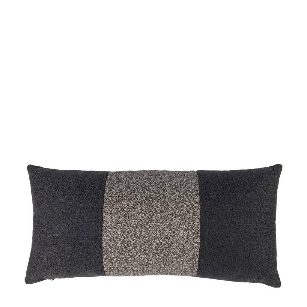 anytime Sierkussen Nick (30x60 cm), Zwart/grijs