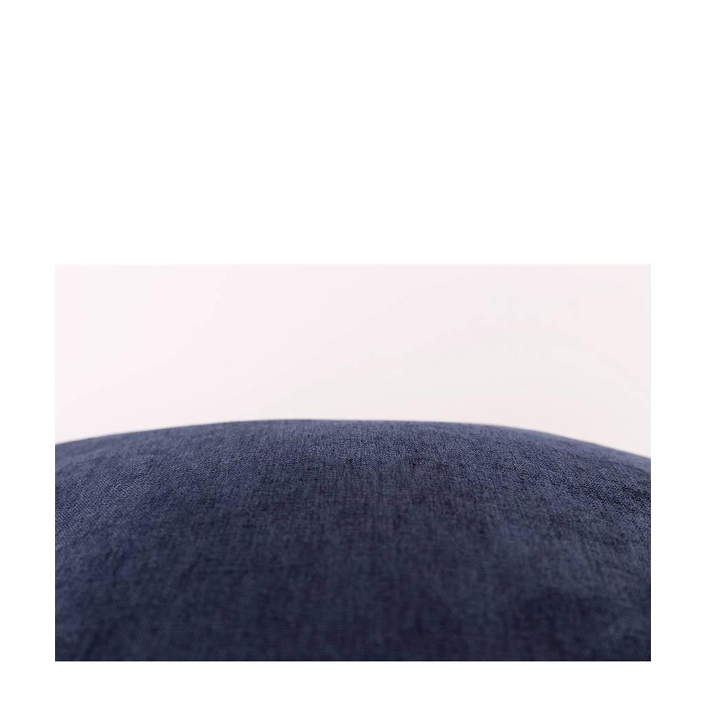Sierkussen Justin (45x45 cm), Donkerblauw