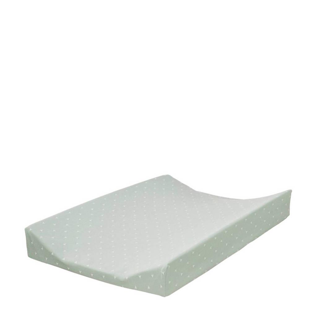 Cottonbaby driehoek aankleedkussenhoes mint, Mint