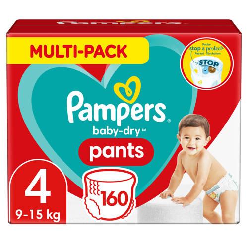 Pampers Baby-Dry Pants maandbox maat 4 (9-15 kg) 160 luierbroekjes kopen