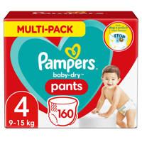 Pampers Baby-Dry Pants maandbox maat 4 (9-15 kg) 160 luierbroekjes