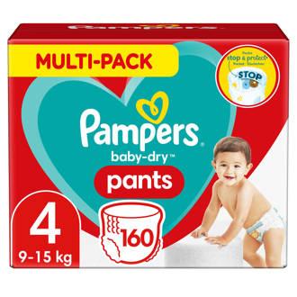 Baby-Dry Pants maandbox maat 4 (9-15 kg) 160 luierbroekjes