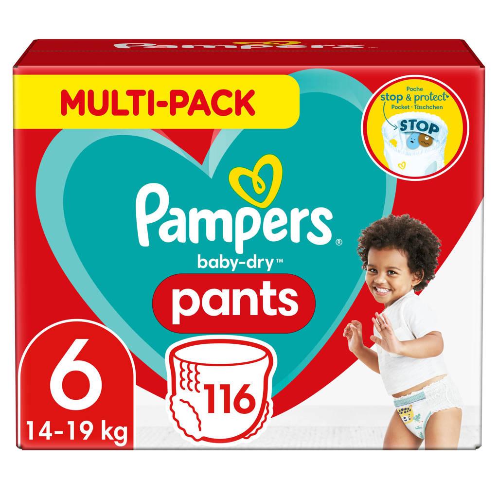 Pampers Baby-Dry Pants maandbox maat 6 (15+ kg) 116 luierbroekjes