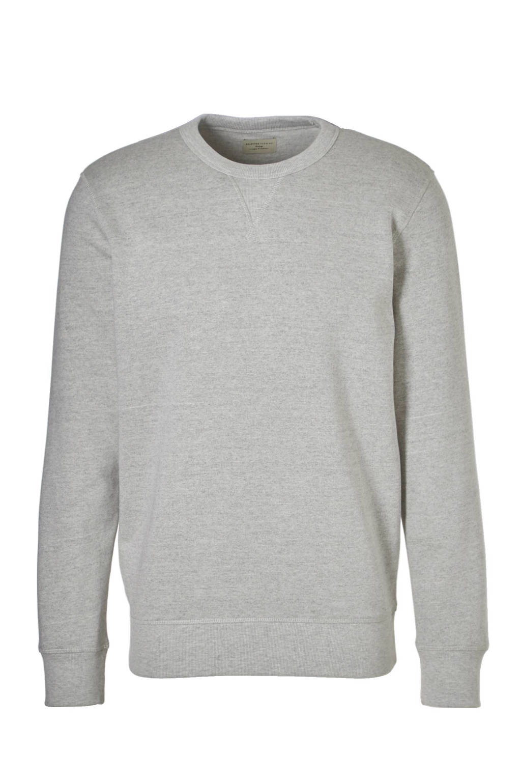 SELECTED HOMME Simon sweater, Lichtgrijs