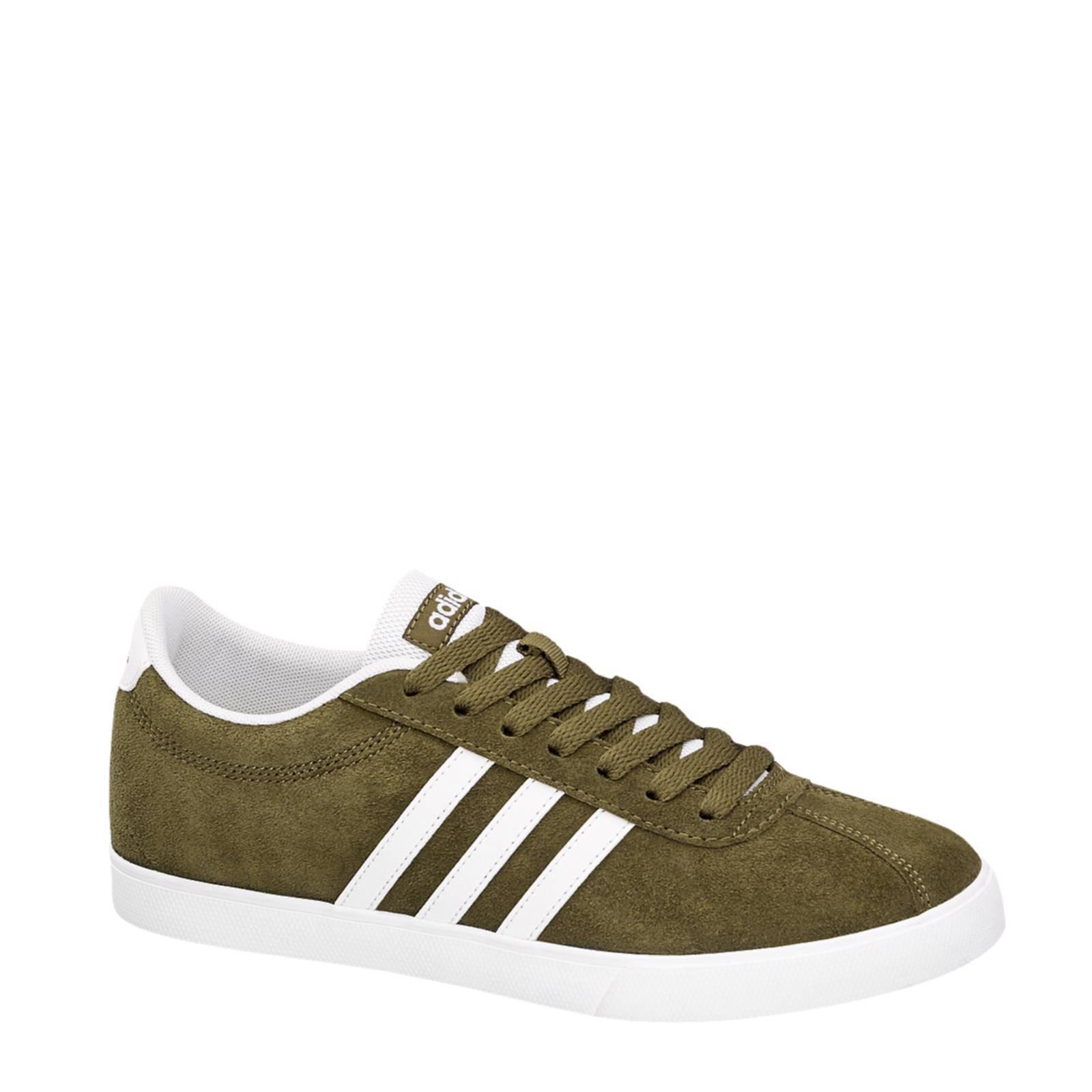 adidas neo sneakers groen