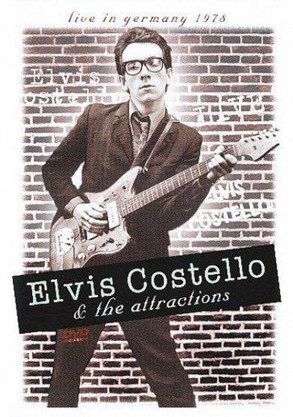 Elvis Costello & The Attractions - Live in Germany 1978 (DVD)