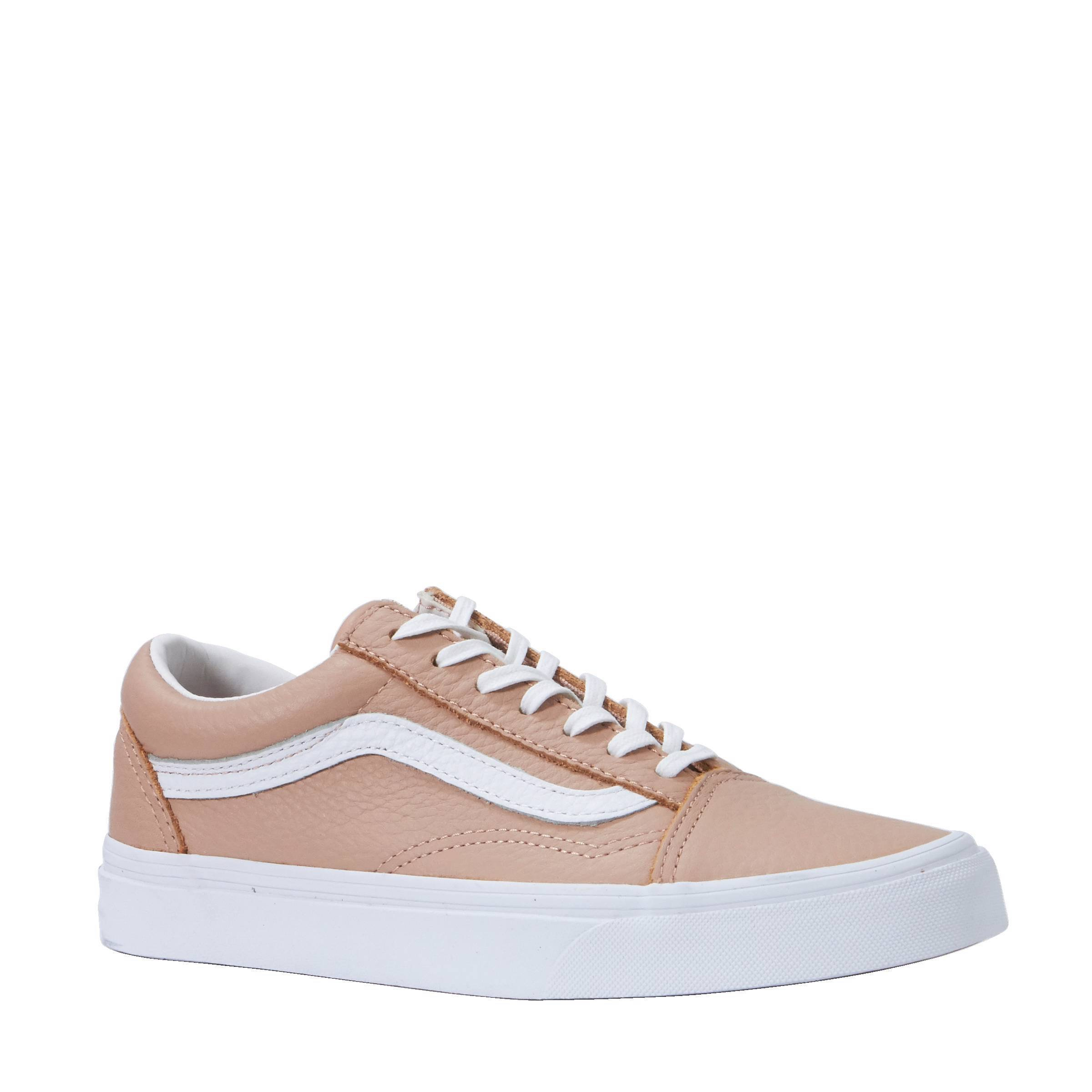 vans old skool dames leer