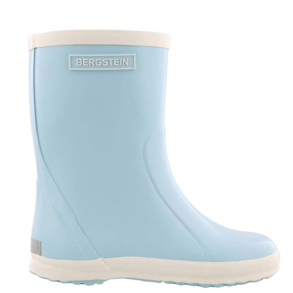 Bergstein   regenlaarzen kids, Lichtblauw/wit