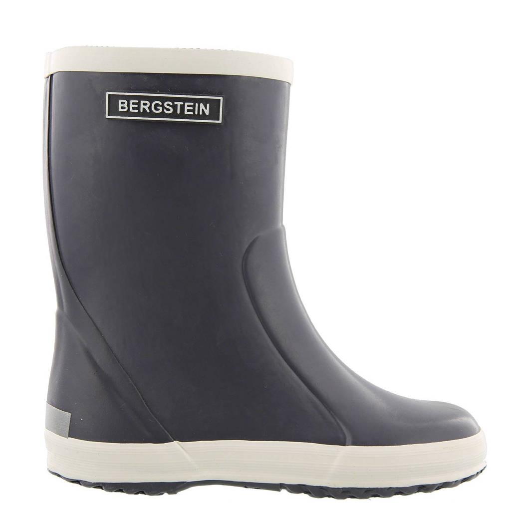 Bergstein   regenlaarzen kids, Antraciet/wit