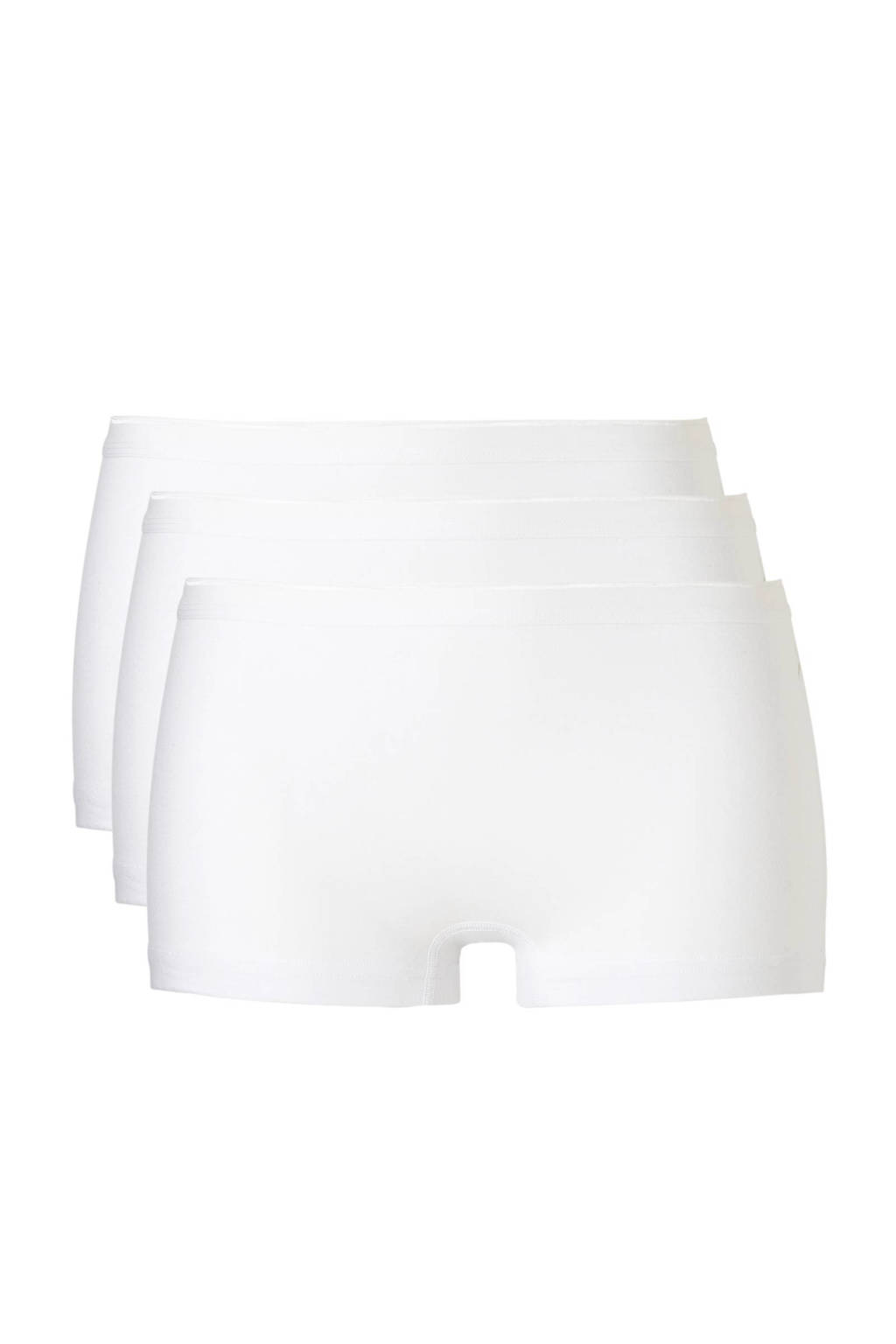 ten Cate short (set van 3) wit, Wit
