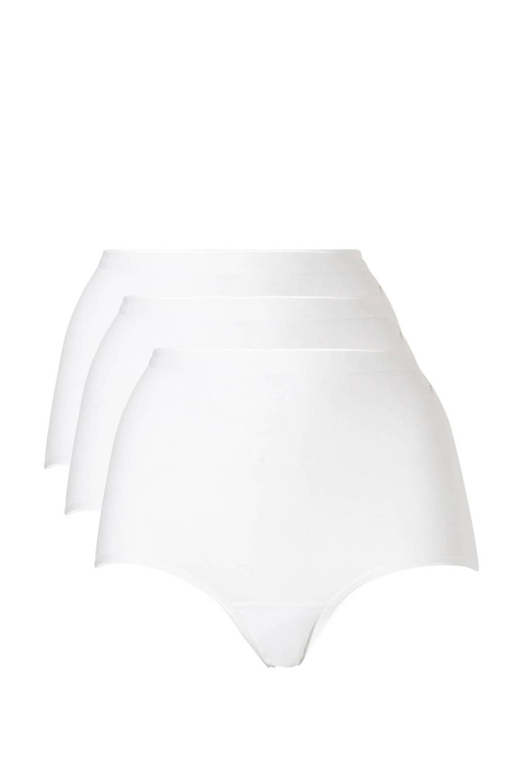 ten Cate maxislip (set van 3) wit, Wit