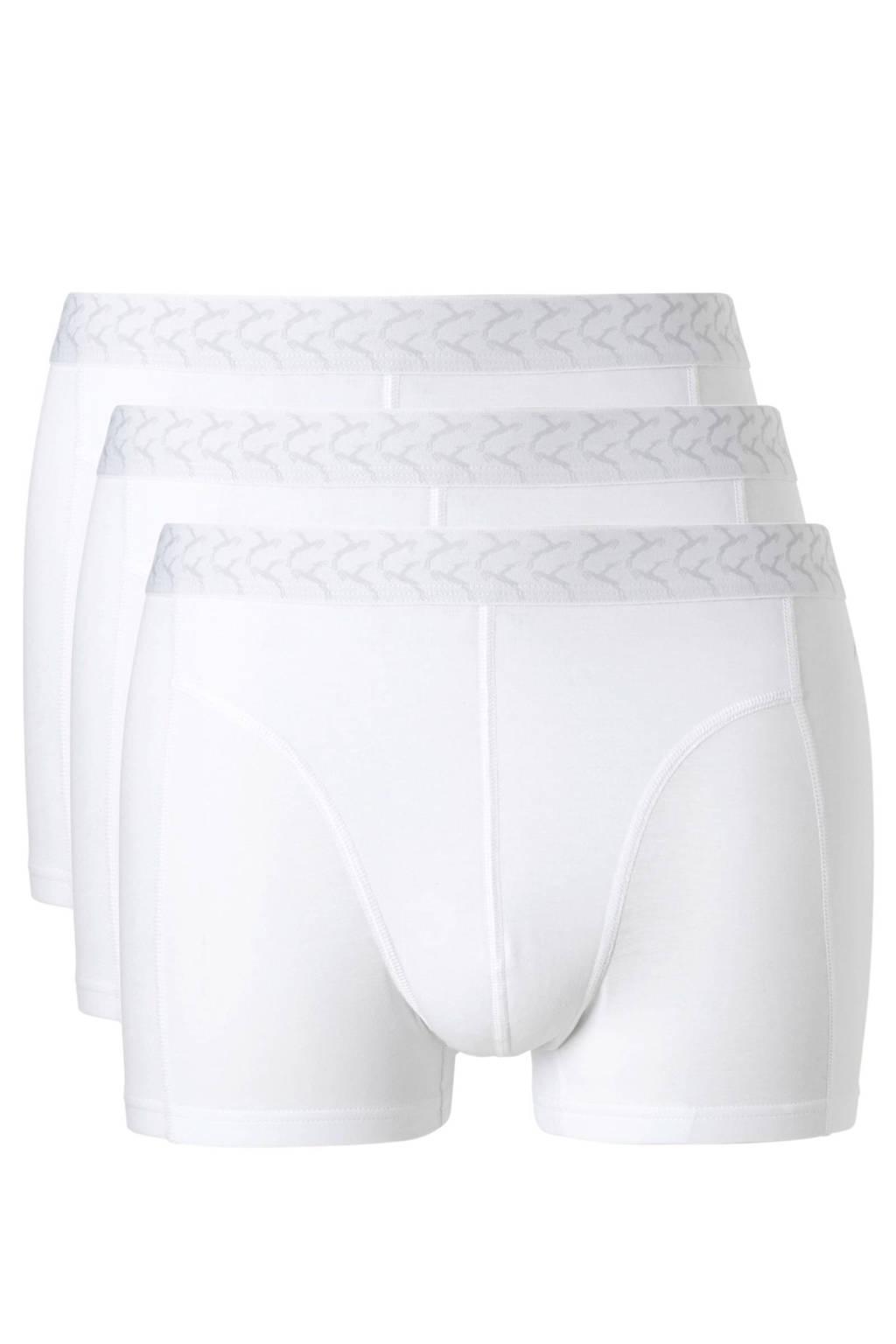 ten Cate boxershort (set van 3), Wit