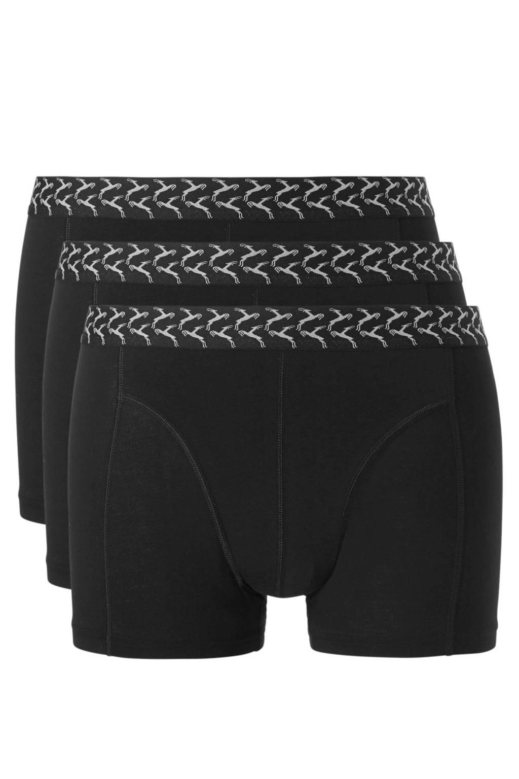 ten Cate boxershort (set van 3), Zwart