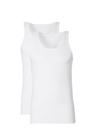 hemd (set van 2) wit