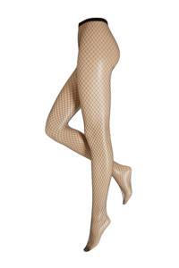 Oroblu Carry fishnet panty Black, Zwart