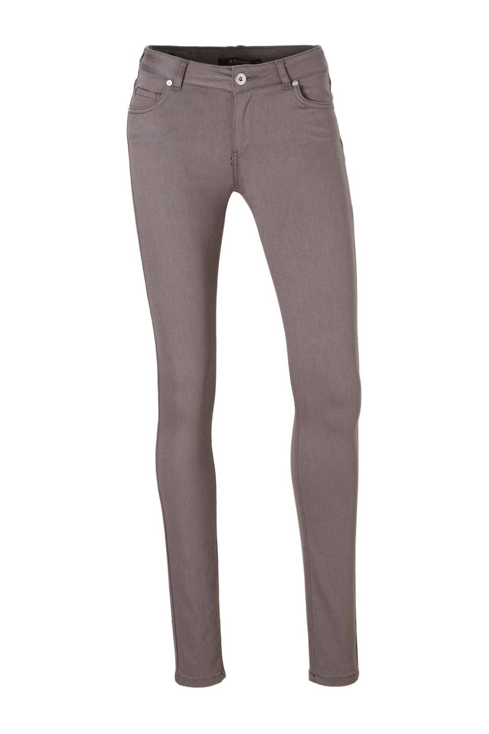 Supertrash paradise skinny fit jeans, Antraciet