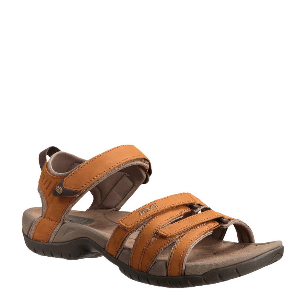 Teva Tirra leren outdoor sandalen, Camel