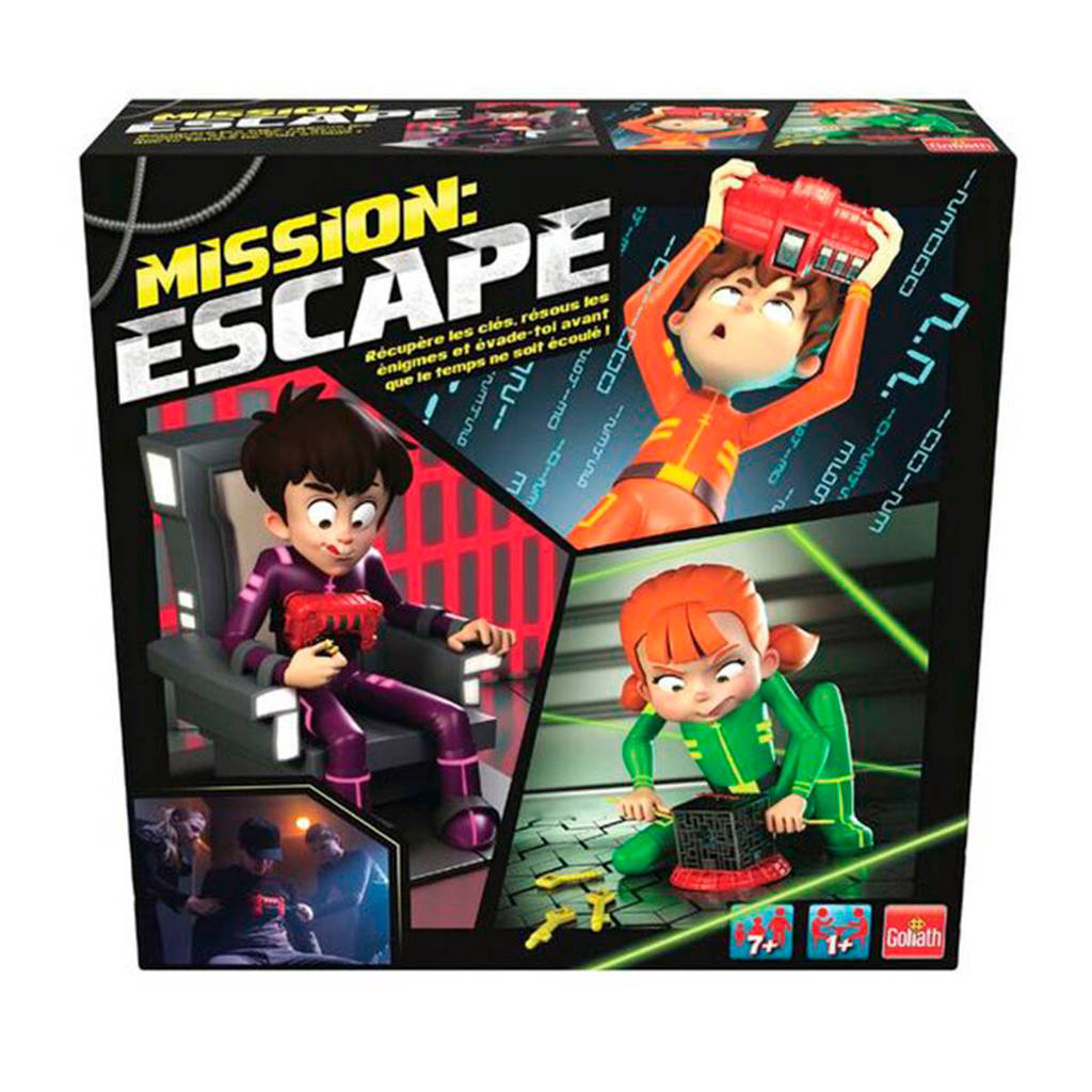 Goliath Mission Escape kinderspel