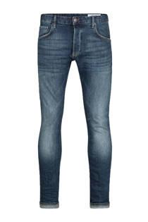 WE Fashion Blue Ridge slim fit jeans blauw (heren)