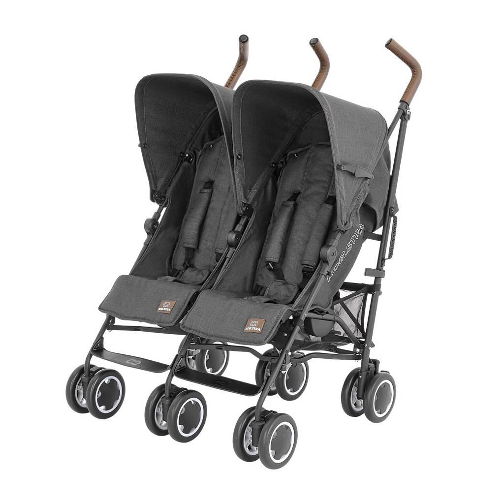 Koelstra Simba Twin T4 duo buggy denim black, Denim black