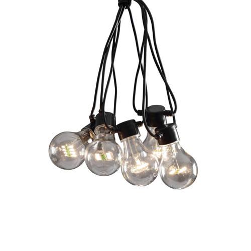 LED feestverlichting met heldere lampen 14.5 meter 10 lampen