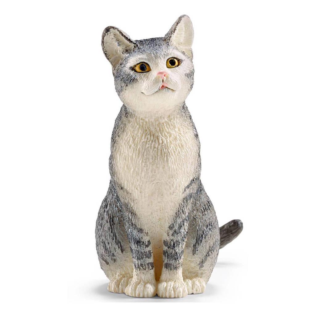 Schleich Farm World kat zittend