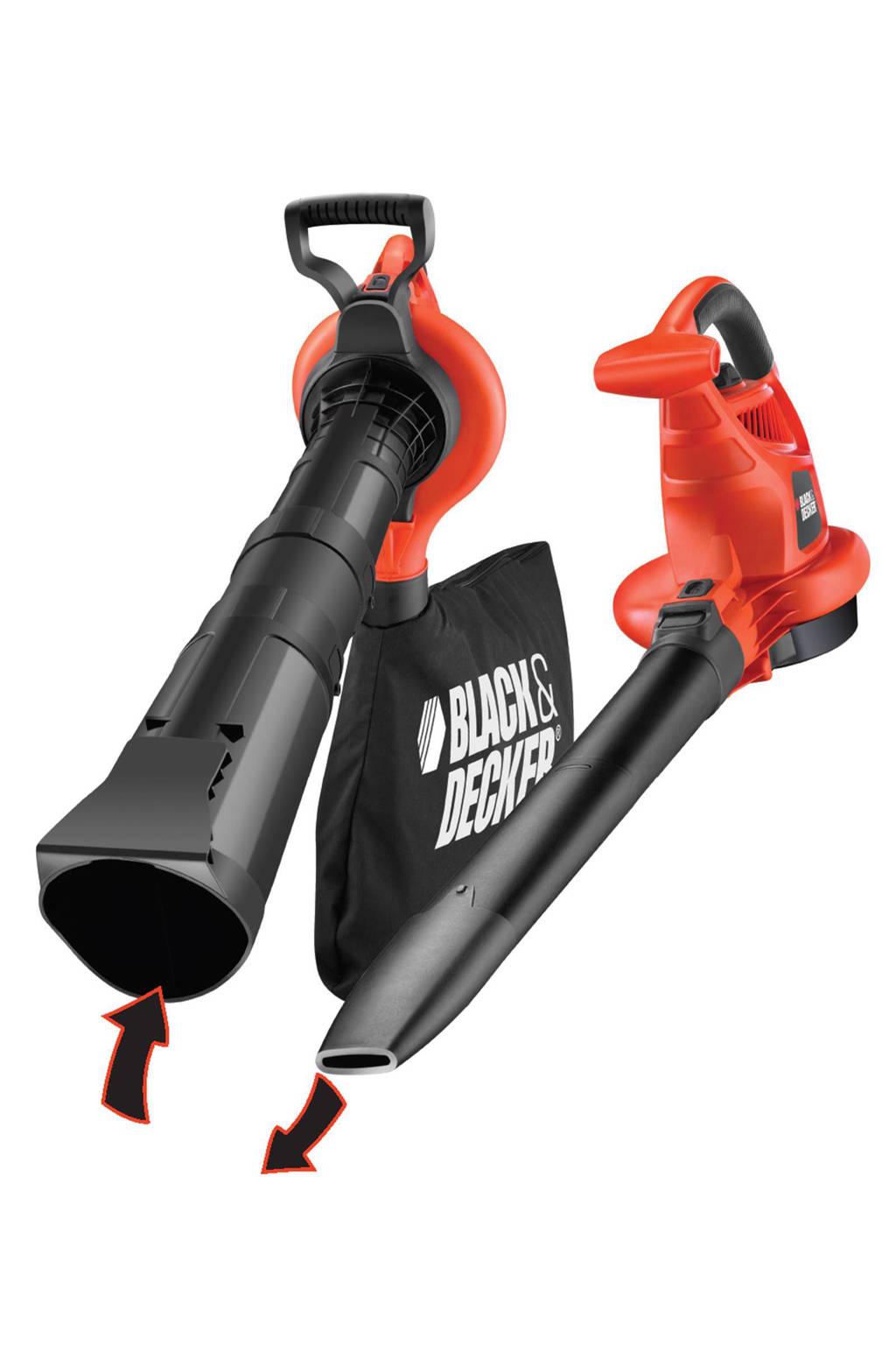 Black+Decker GW3030 elektrische bladblazer, Oranje