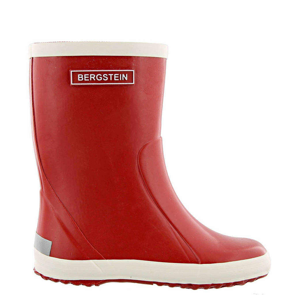 Bergstein   regenlaarzen kids, Rood/wit