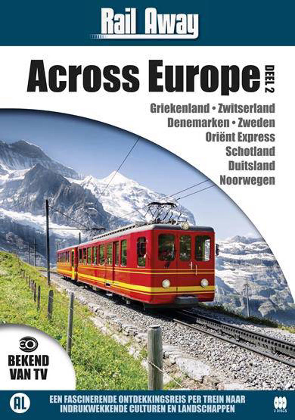Rail away across Europe 2 (DVD)