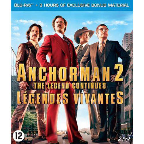Anchorman 2 - The legend continues (Blu-ray) kopen
