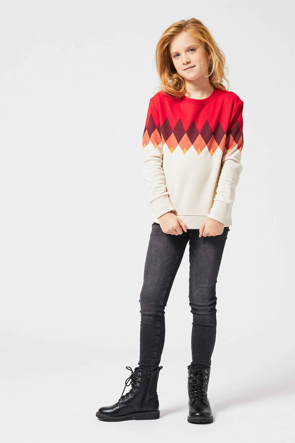 America Today Junior Emily skinny jeans, Zwart