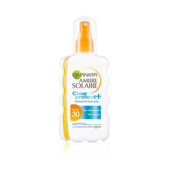 Ambre Solaire clear protect zonnebrand SPF 30 - 200 ml