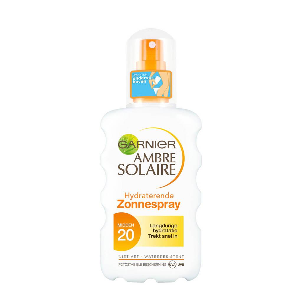 Ambre Solaire 12h hydratatie zonnebrand spray SPF20 - 200 ml