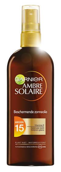 Ambre Solaire Beschermende zonnebrandolie SPF15 - 150 ml