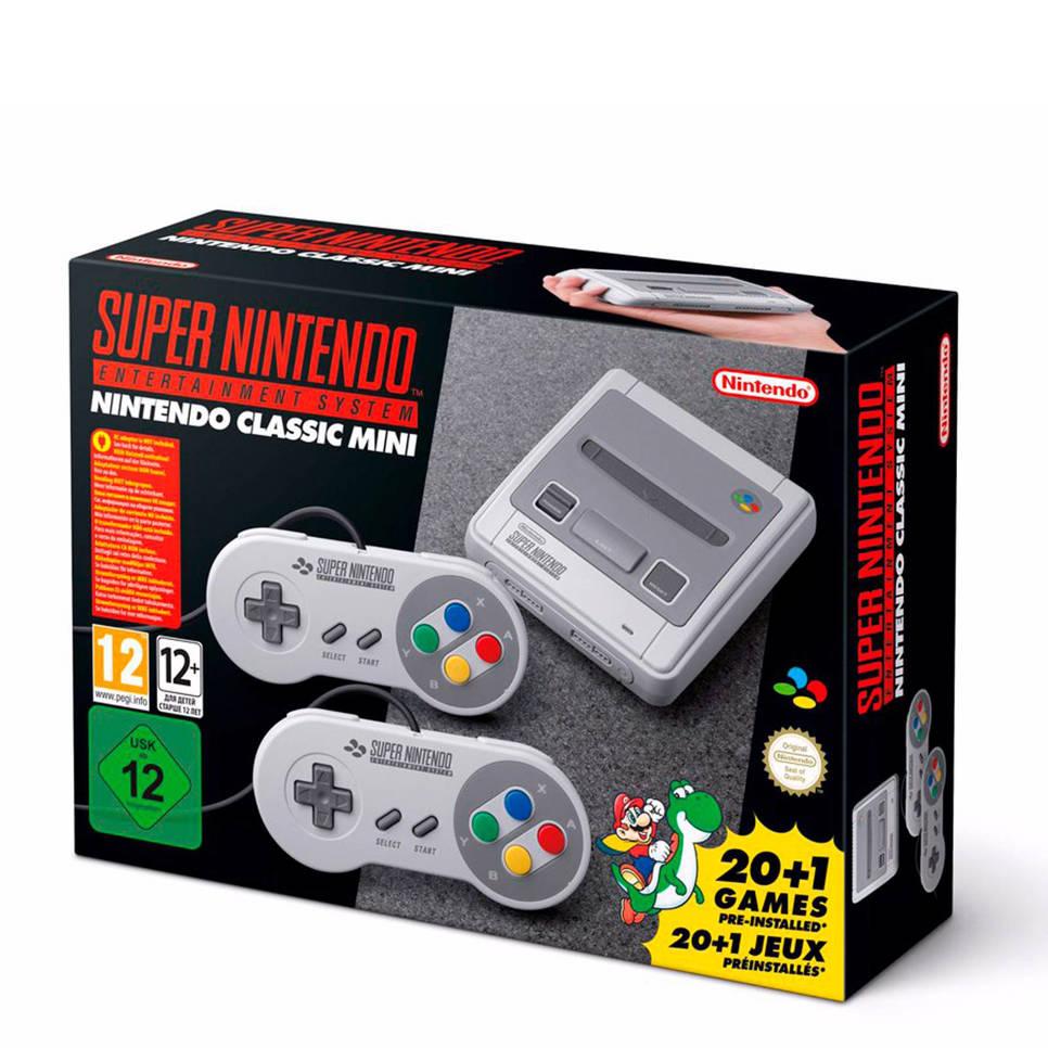 Nintendo Classic Mini: Super Nintendo (tweede kans), Grijs