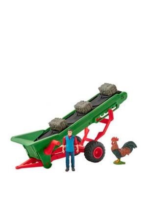 hooi transportband met boer 42377