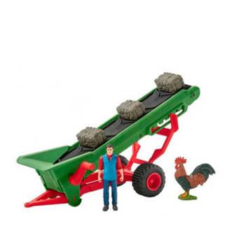 Farm World hooi transportband met boer 42377