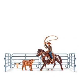Farm World lassovangst met cowboy
