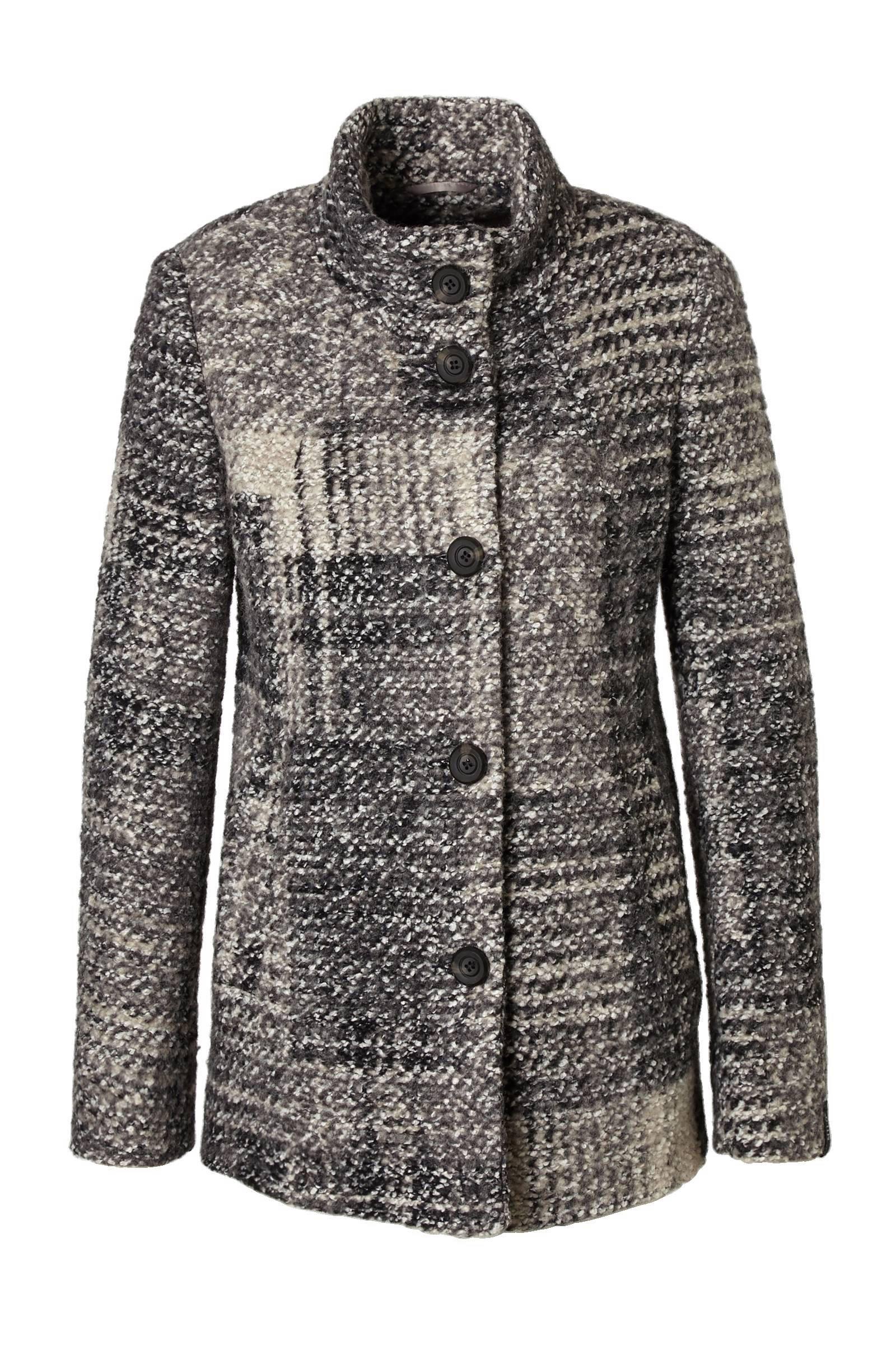 MILO bouclé jas met wol | wehkamp