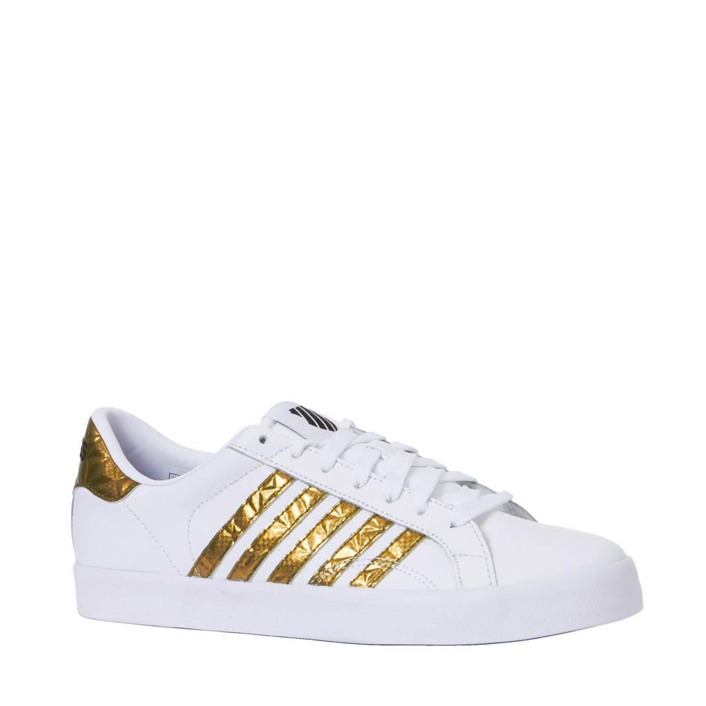 16e35e857df K-Swiss Belmont sneakers, Wit/goud