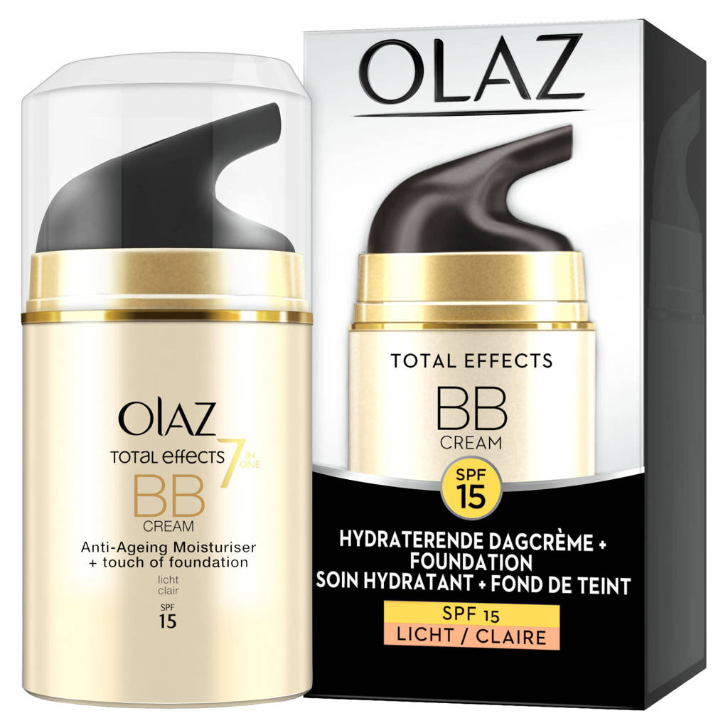Olay Total Effects 7in1 BB crème SPF15 - 50ml, Light/Claire
