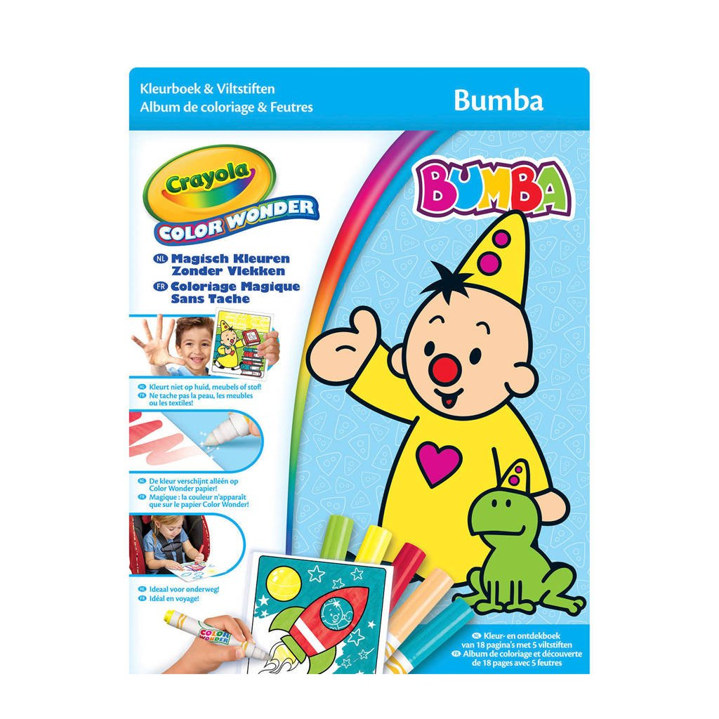 Crayola Bumba  Color Wonderbox set Bumba