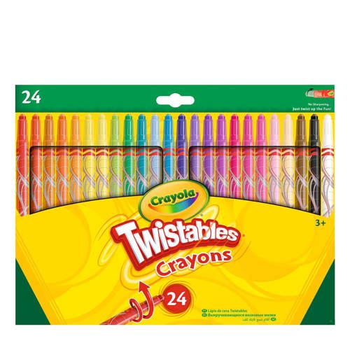 Crayola 24 draaiwaskrijtjes kopen