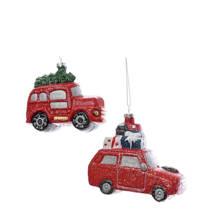 kersthangers auto (set van 2)