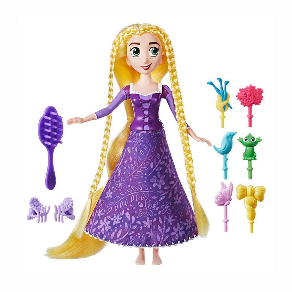 Rapunzel spin en stijl