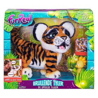 brullende Tyler, de speelse tijger interactieve knuffel