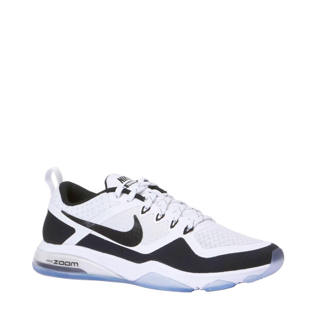 best service da4d9 55afb Nike Air Zoom fitness schoenen, Wit/zwart